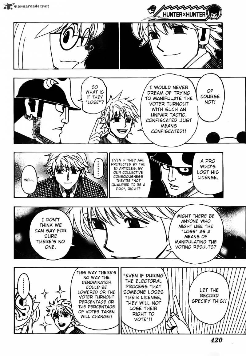 Hunter X Hunter Chapter 321  Online Free Manga Read Image 6