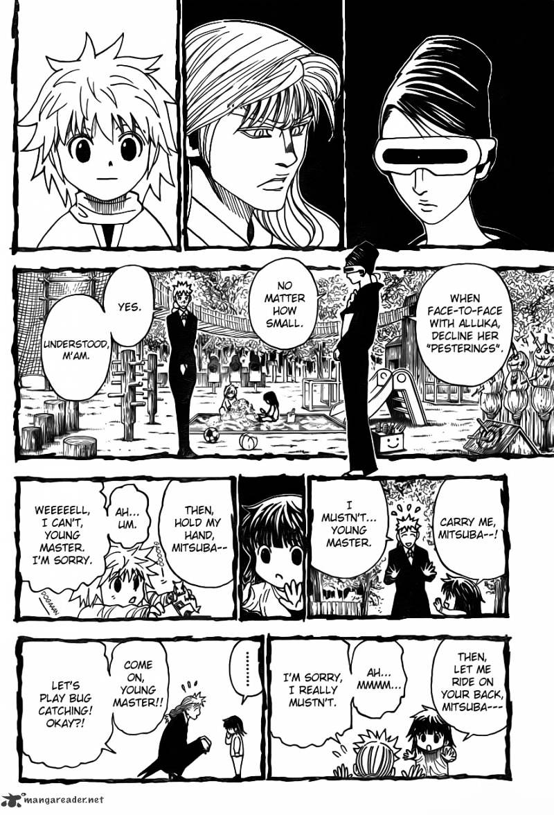 Hunter X Hunter Chapter 322  Online Free Manga Read Image 8