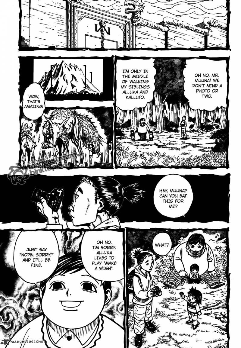 Hunter X Hunter Chapter 323  Online Free Manga Read Image 3