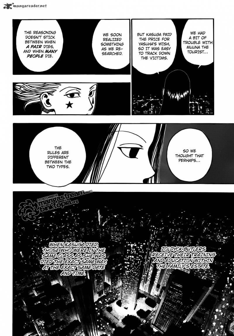 Hunter X Hunter Chapter 323  Online Free Manga Read Image 4