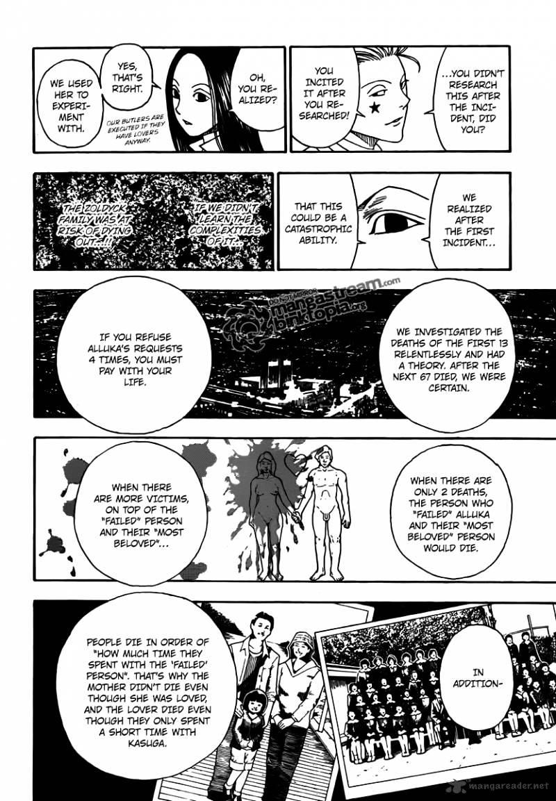 Hunter X Hunter Chapter 323  Online Free Manga Read Image 6