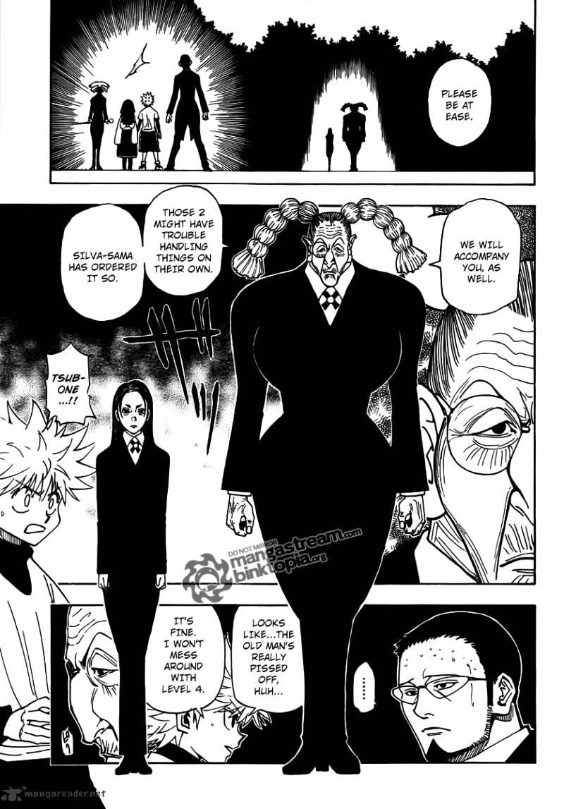 Hunter X Hunter Chapter 324  Online Free Manga Read Image 15