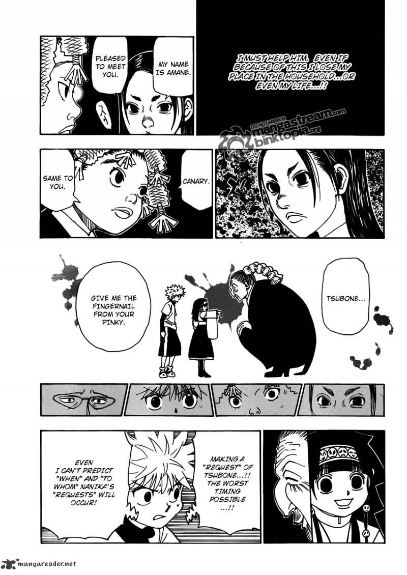 Hunter X Hunter Chapter 324  Online Free Manga Read Image 17