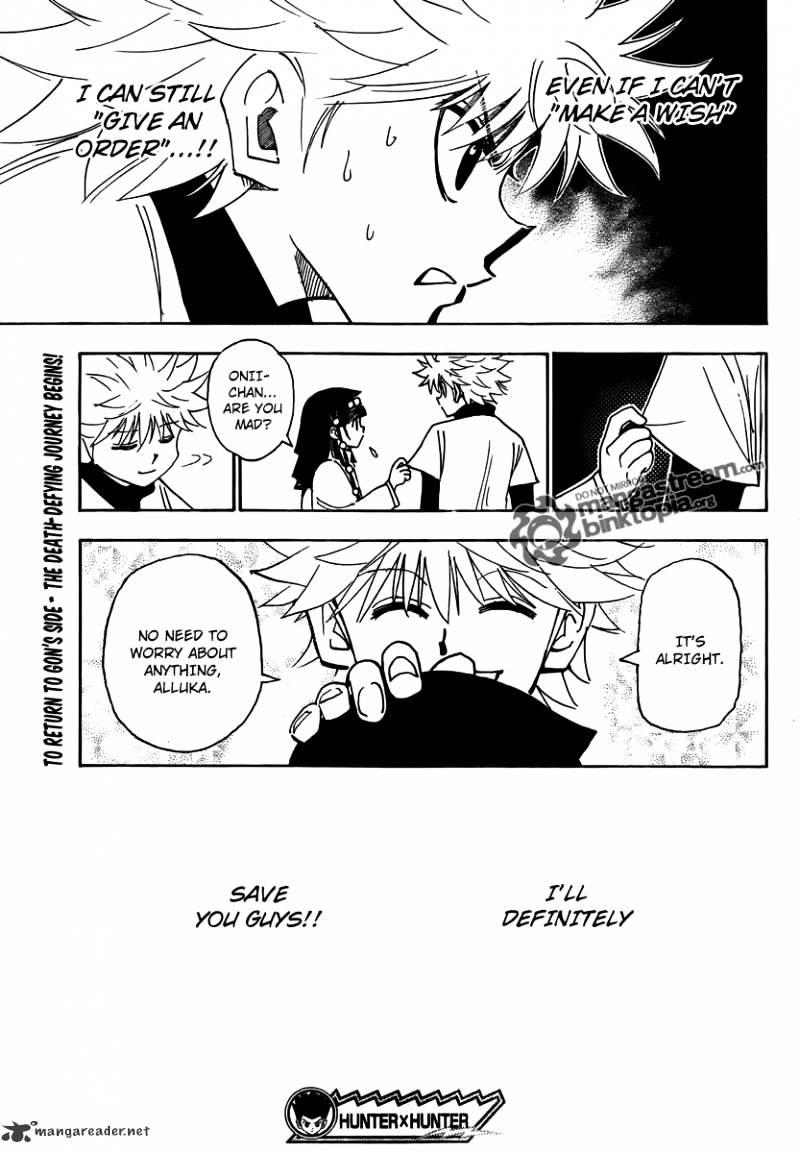 Hunter X Hunter Chapter 324  Online Free Manga Read Image 19