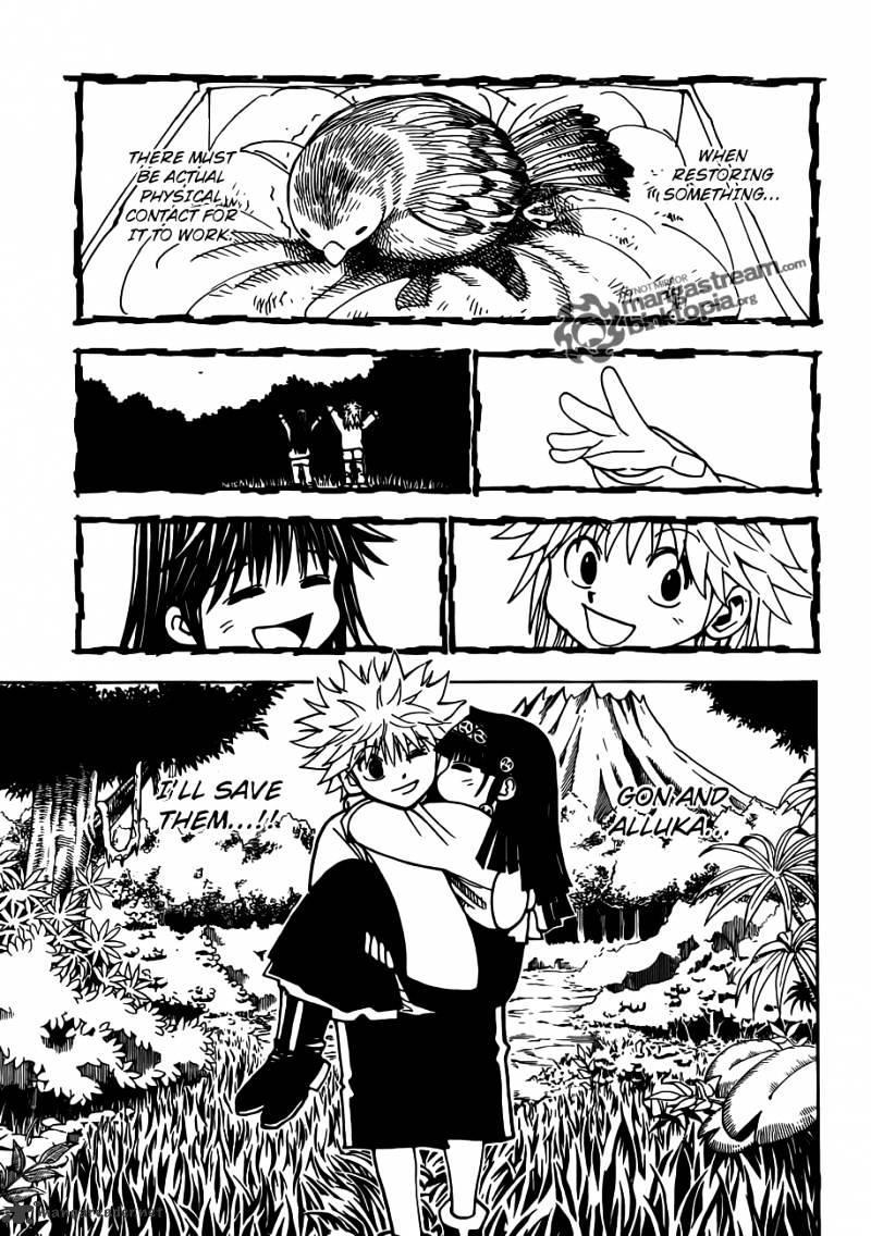 Hunter X Hunter Chapter 324  Online Free Manga Read Image 9