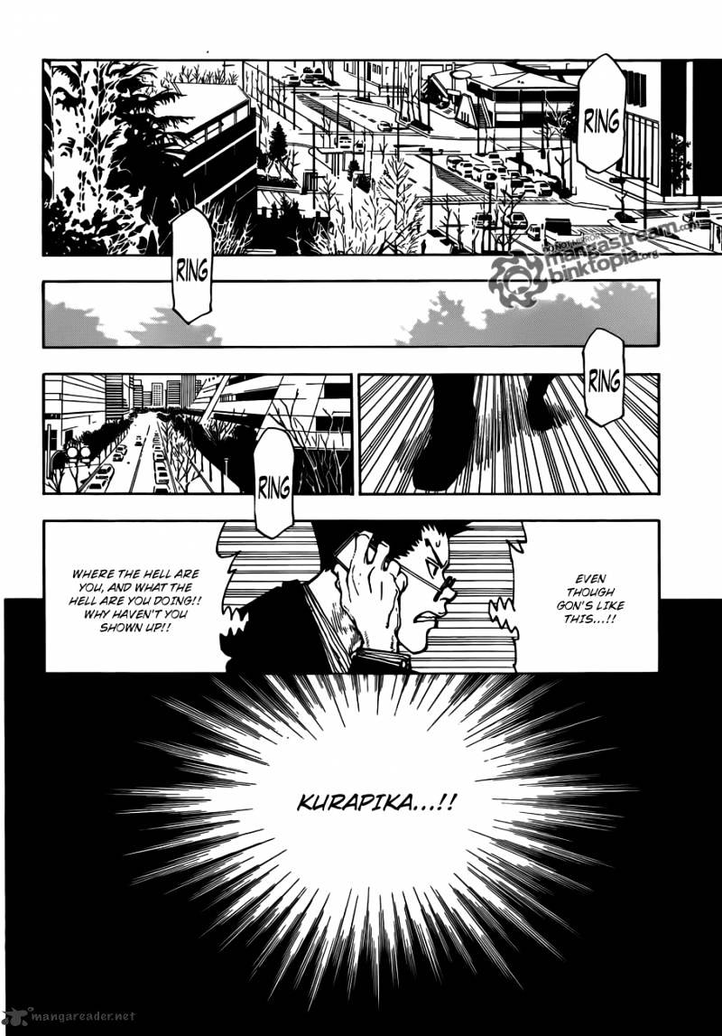 Hunter X Hunter Chapter 325  Online Free Manga Read Image 10