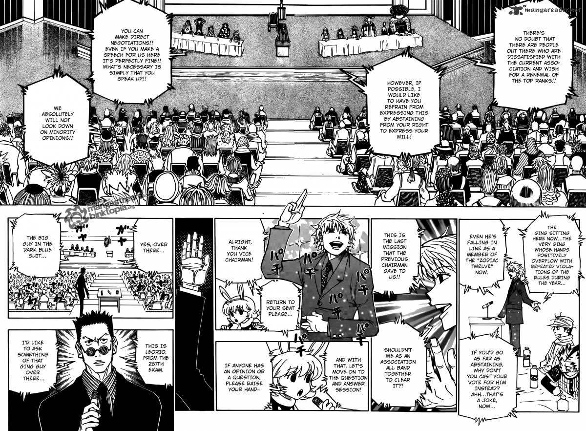 Hunter X Hunter Chapter 325  Online Free Manga Read Image 12