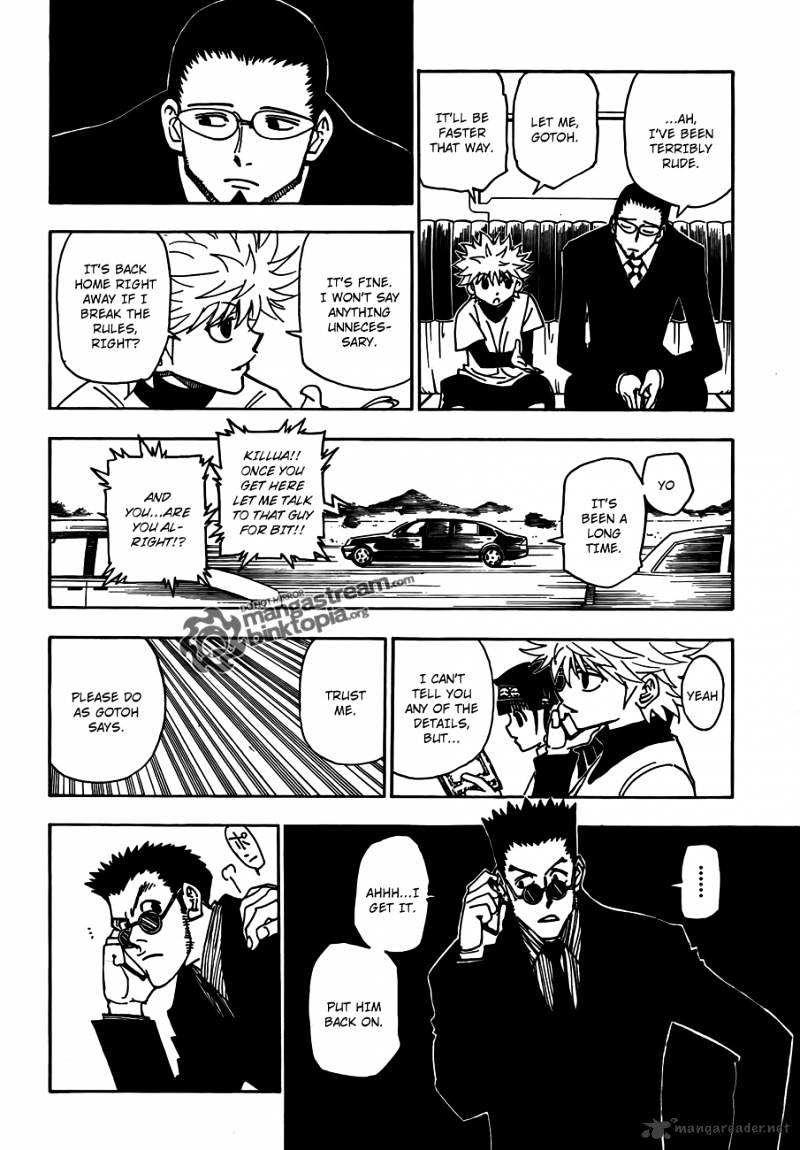 Hunter X Hunter Chapter 325  Online Free Manga Read Image 4