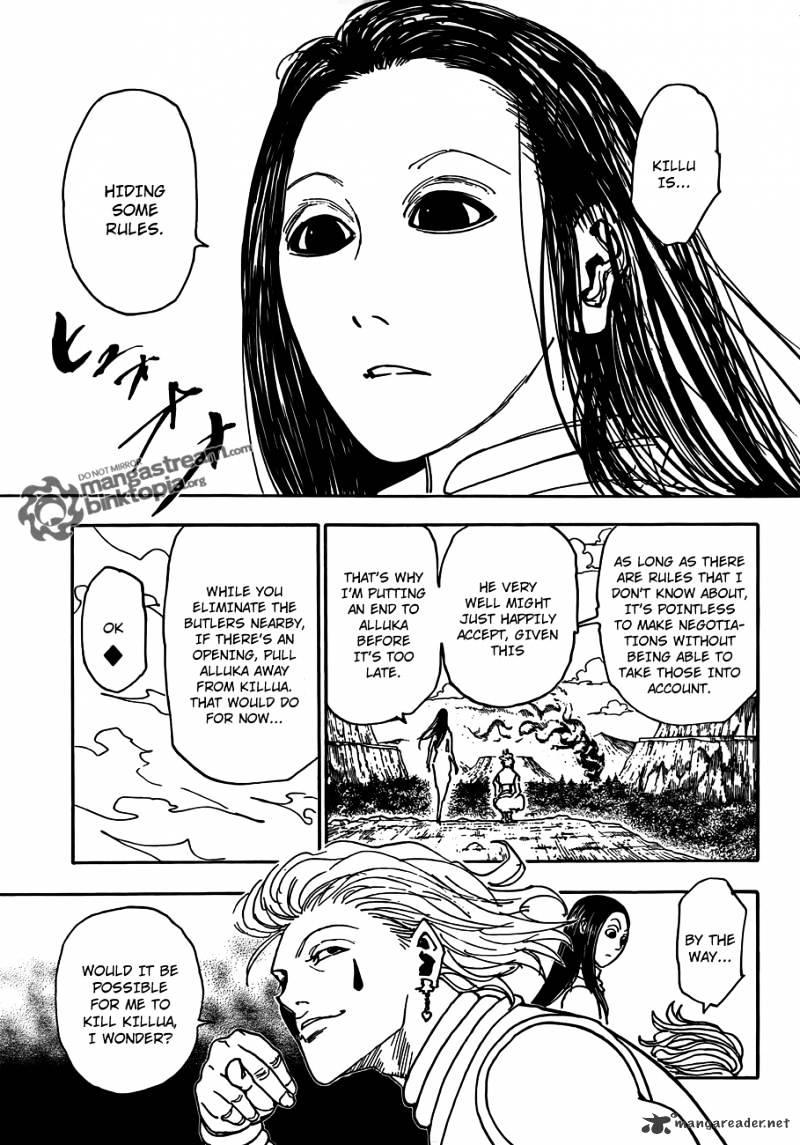Hunter X Hunter Chapter 326  Online Free Manga Read Image 15
