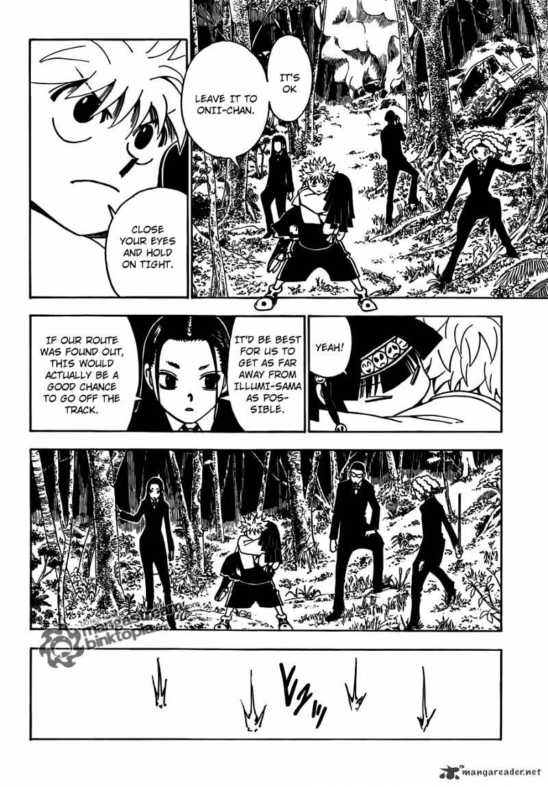 Hunter X Hunter Chapter 326  Online Free Manga Read Image 18