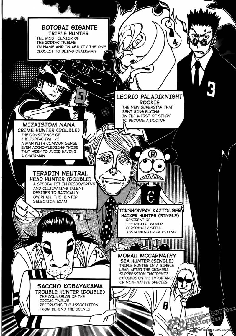 Hunter X Hunter Chapter 326  Online Free Manga Read Image 2
