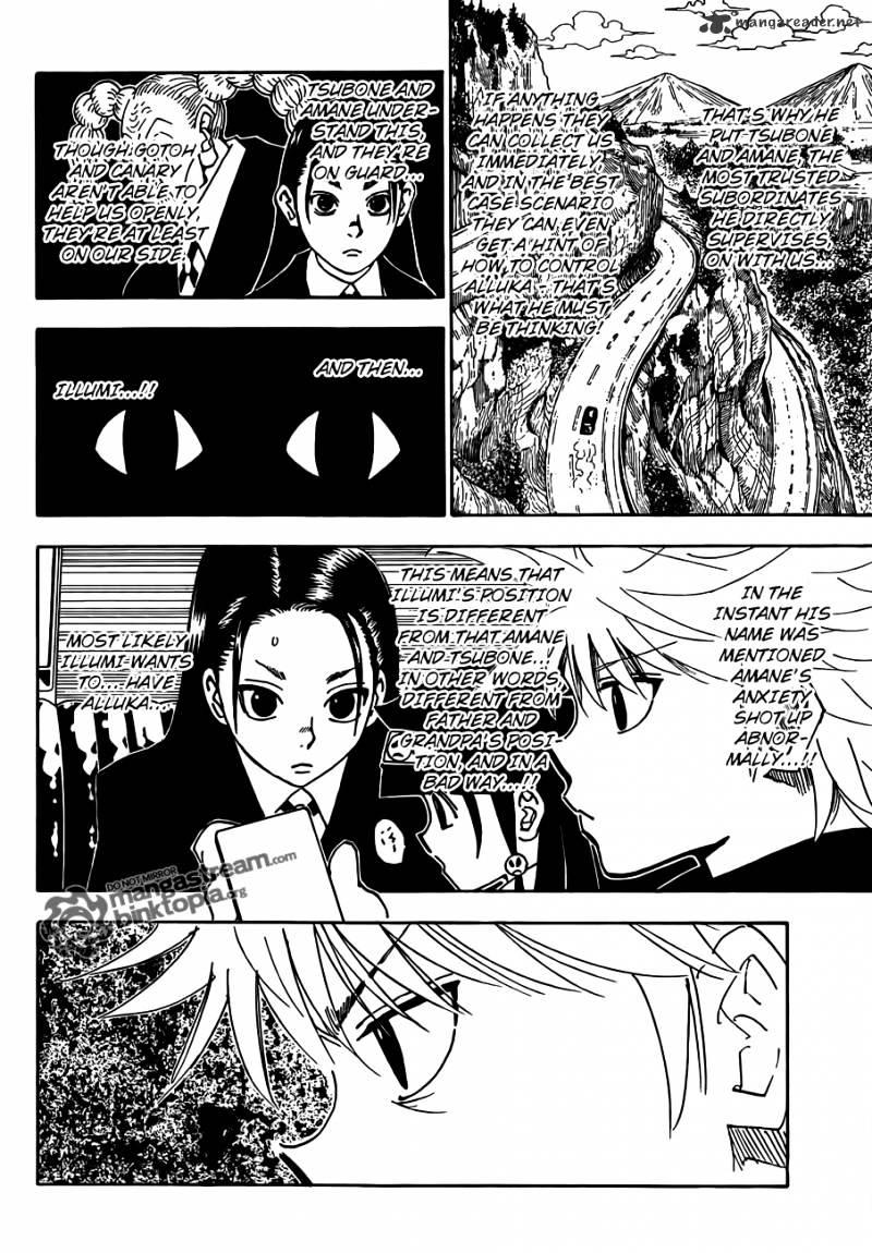 Hunter X Hunter Chapter 326  Online Free Manga Read Image 6