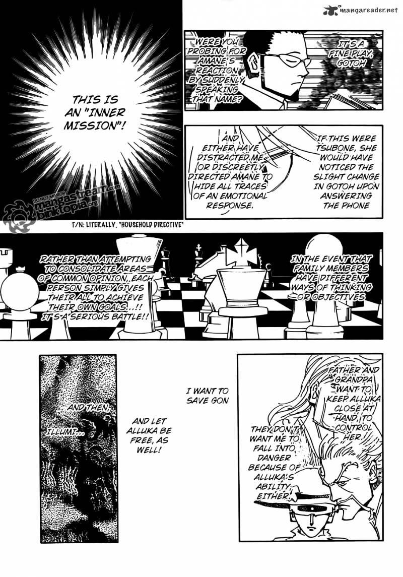 Hunter X Hunter Chapter 326  Online Free Manga Read Image 7