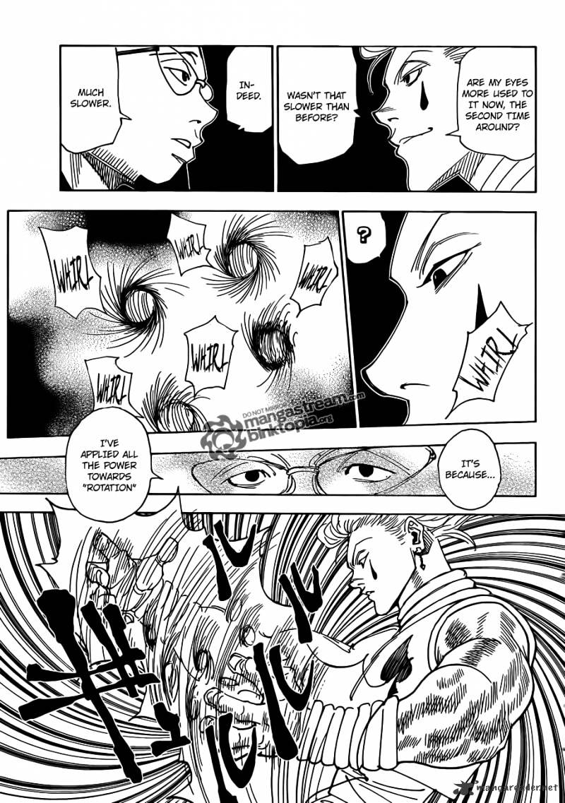 Hunter X Hunter Chapter 327  Online Free Manga Read Image 13