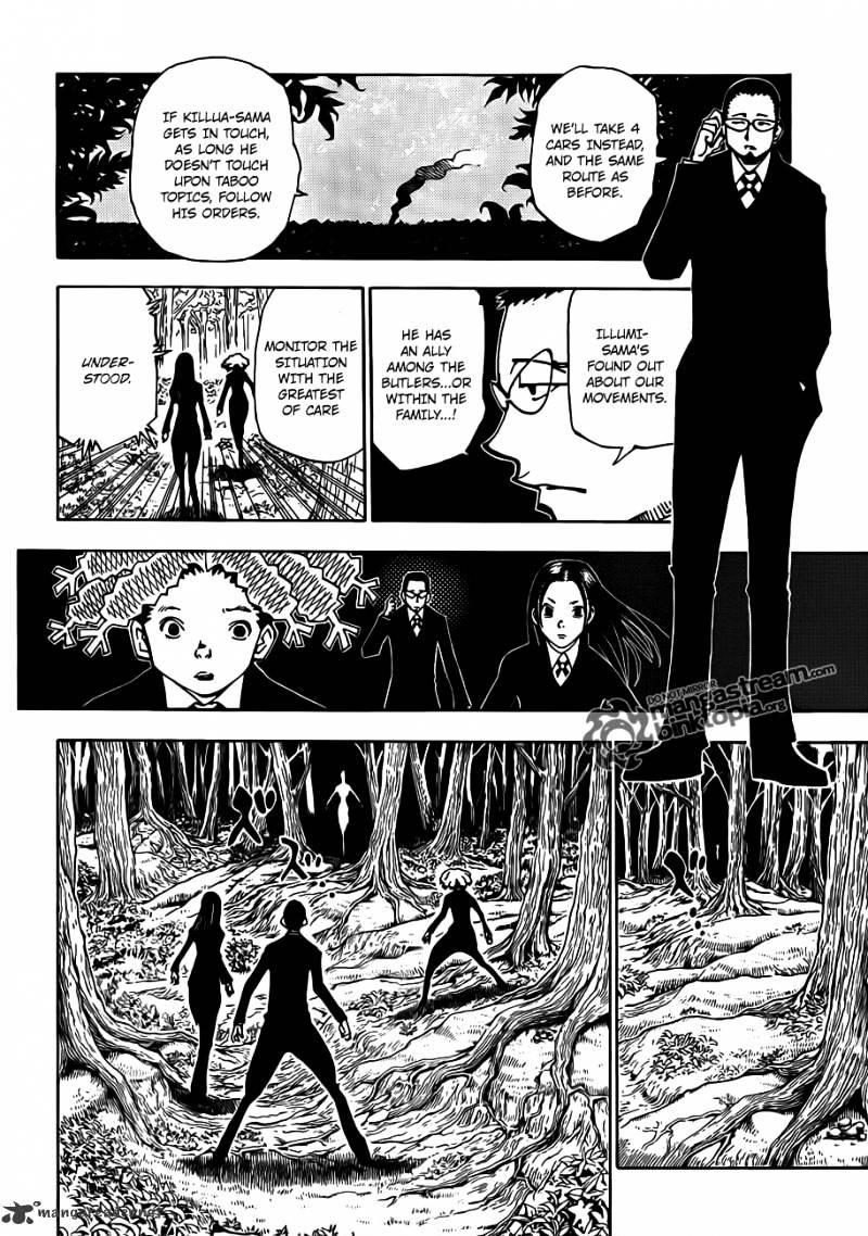 Hunter X Hunter Chapter 327  Online Free Manga Read Image 2