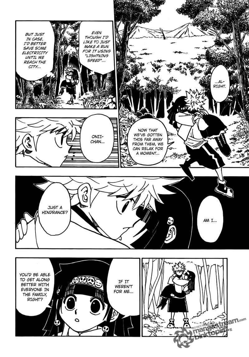 Hunter X Hunter Chapter 327  Online Free Manga Read Image 4