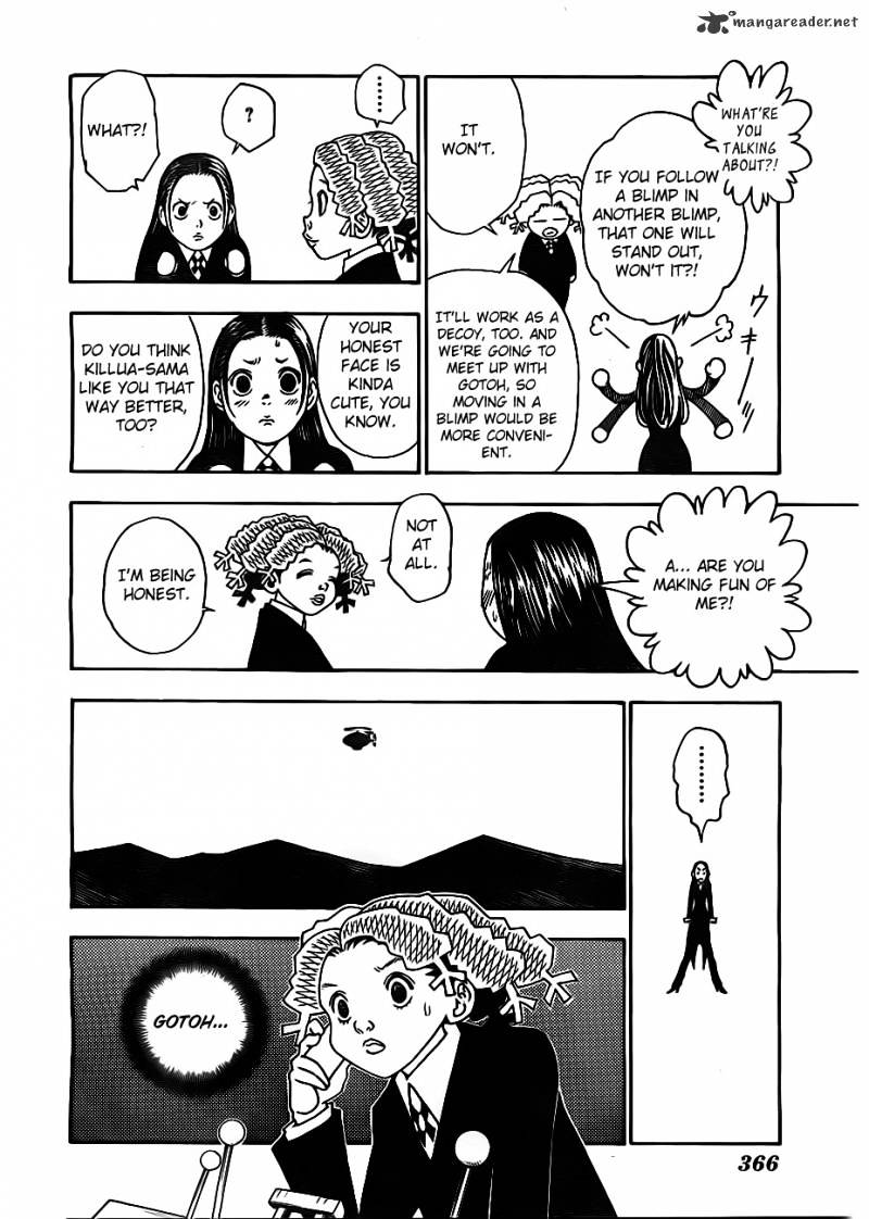 Hunter X Hunter Chapter 328  Online Free Manga Read Image 10