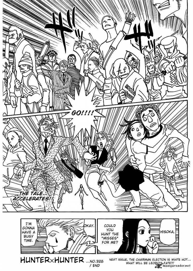 Hunter X Hunter Chapter 328  Online Free Manga Read Image 20
