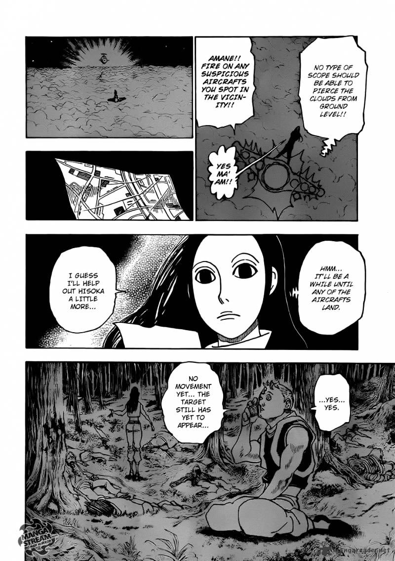 Hunter X Hunter Chapter 329  Online Free Manga Read Image 10