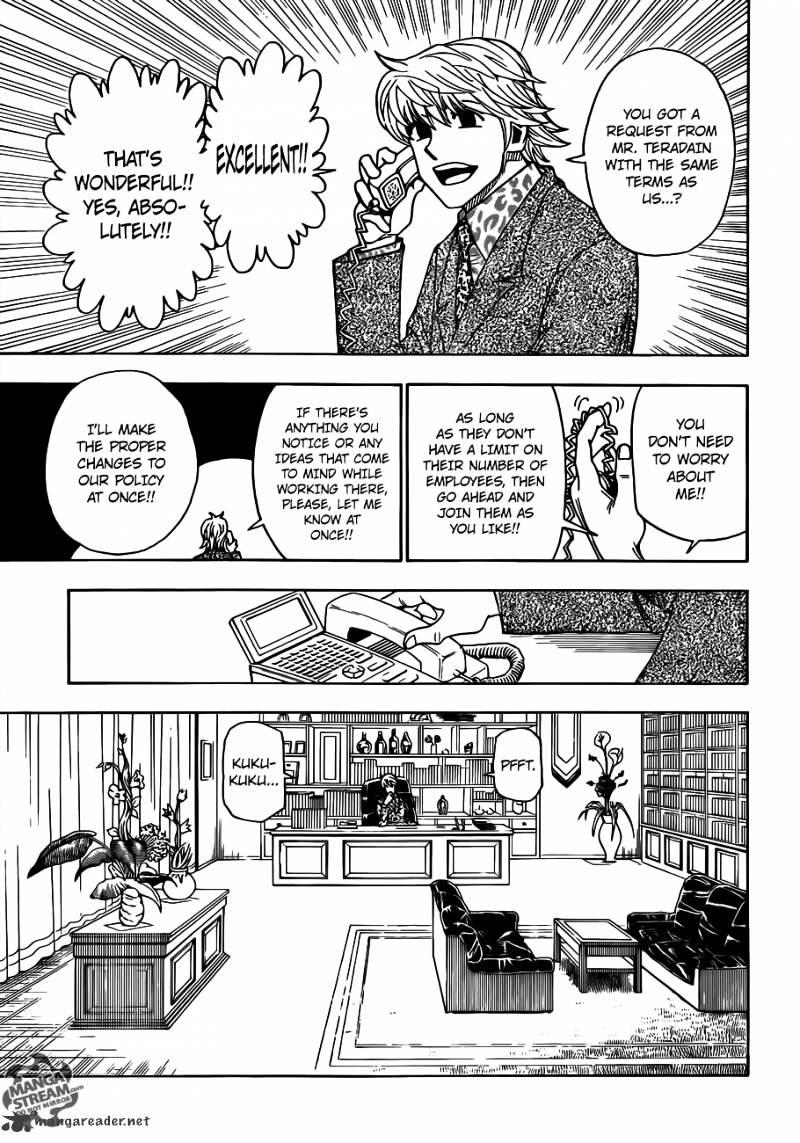 Hunter X Hunter Chapter 329  Online Free Manga Read Image 13