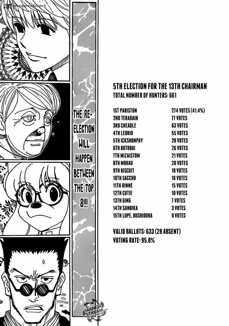 Hunter X Hunter Chapter 329  Online Free Manga Read Image 3