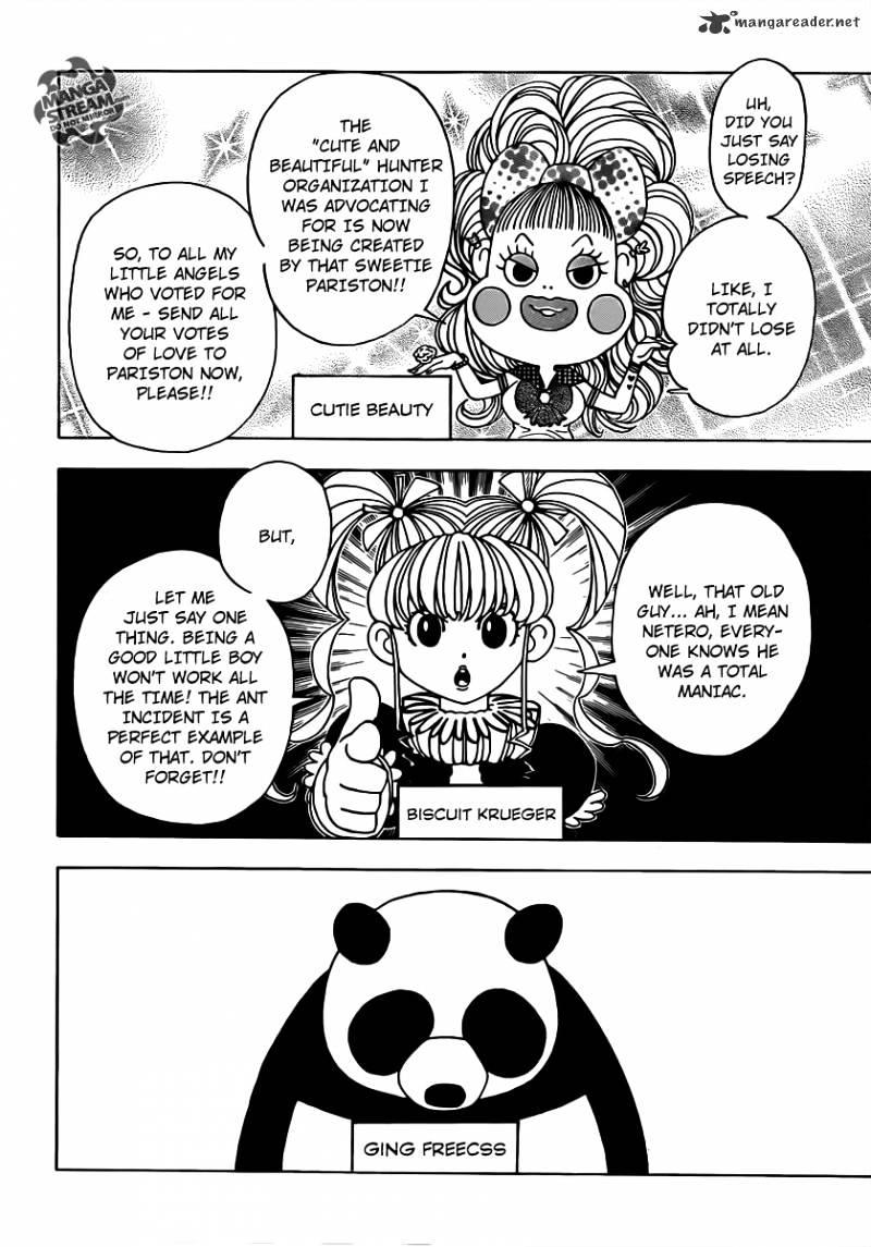 Hunter X Hunter Chapter 329  Online Free Manga Read Image 4