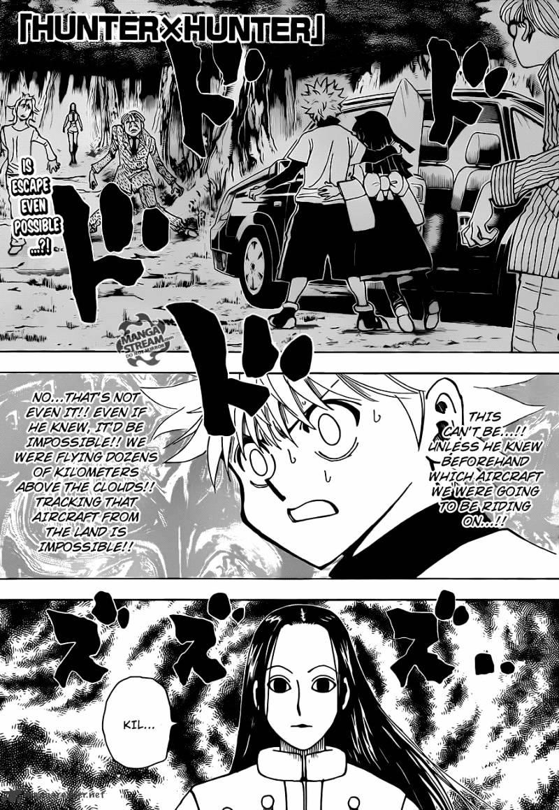 Hunter X Hunter Chapter 330  Online Free Manga Read Image 1
