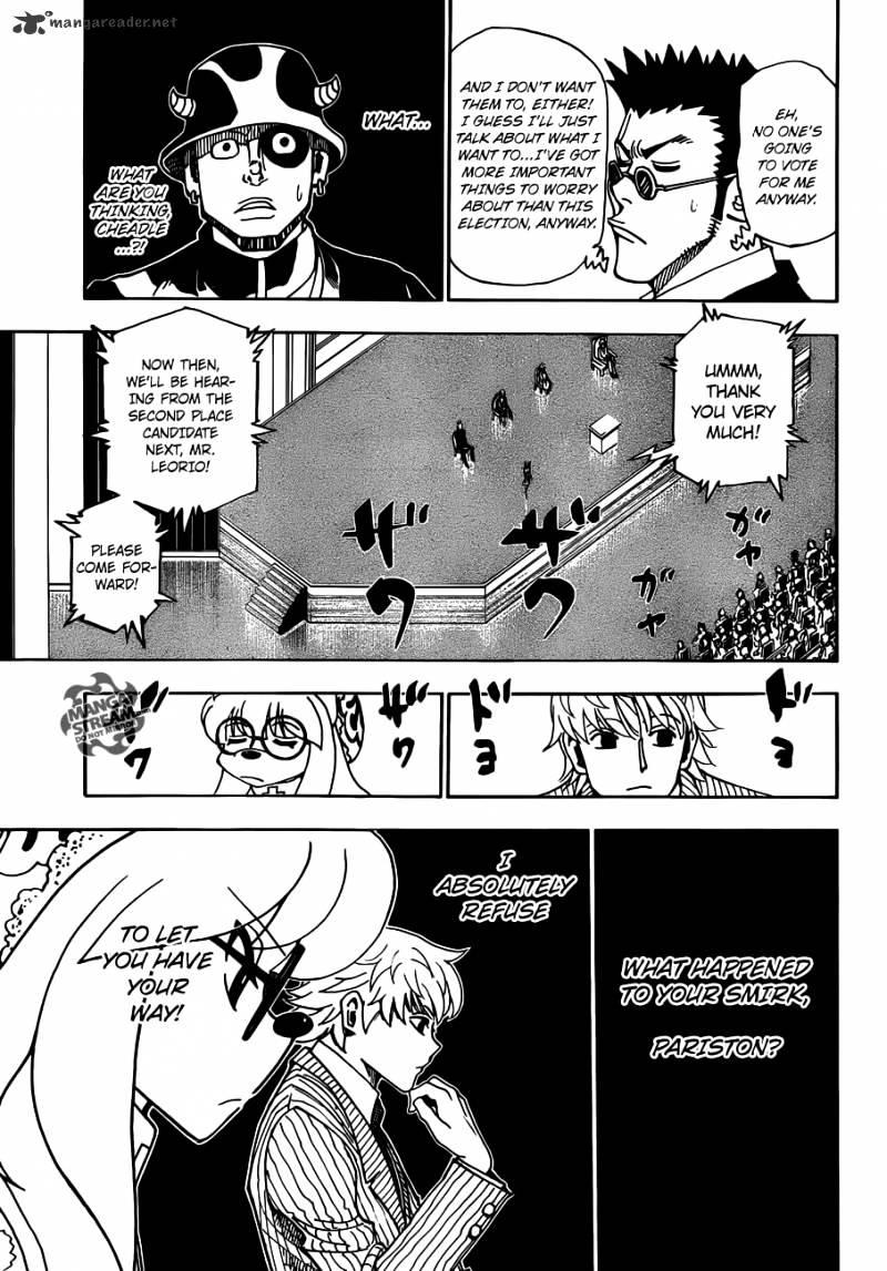 Hunter X Hunter Chapter 332  Online Free Manga Read Image 3
