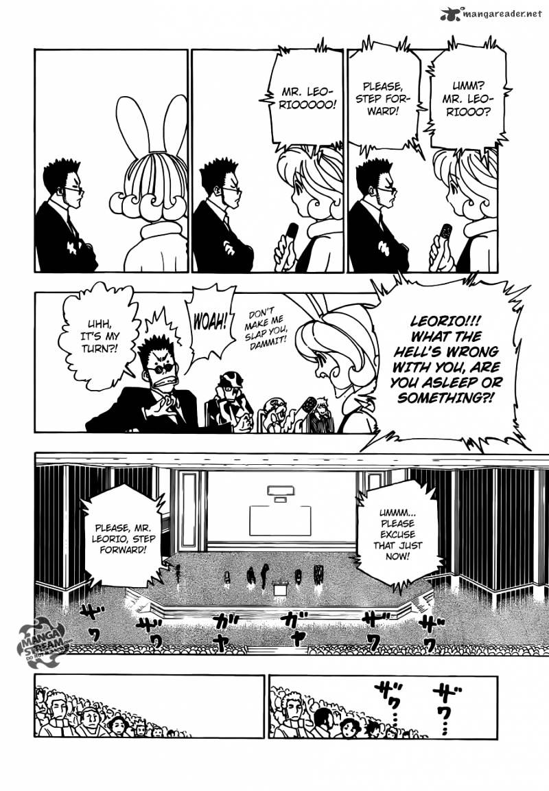 Hunter X Hunter Chapter 332  Online Free Manga Read Image 4