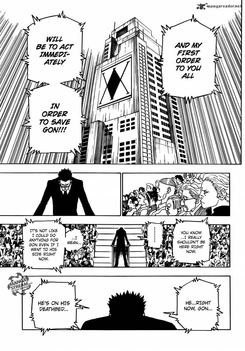 Hunter X Hunter Chapter 332  Online Free Manga Read Image 7