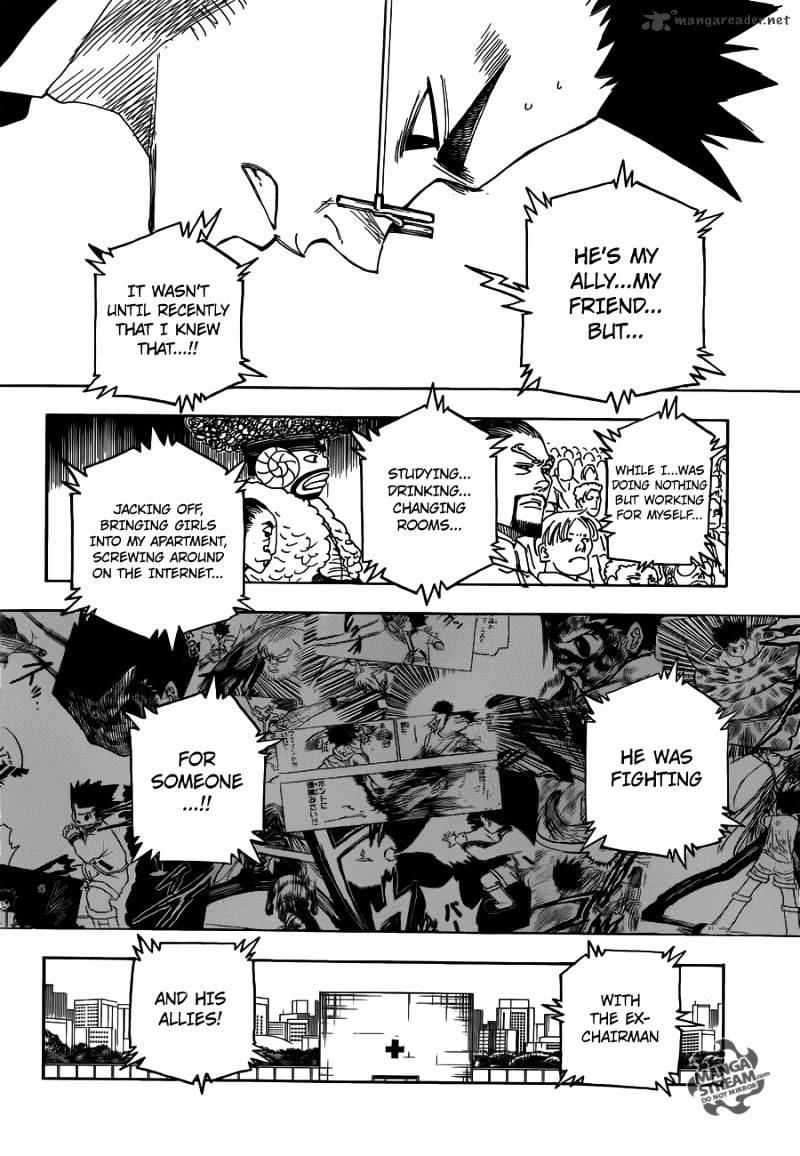 Hunter X Hunter Chapter 332  Online Free Manga Read Image 8