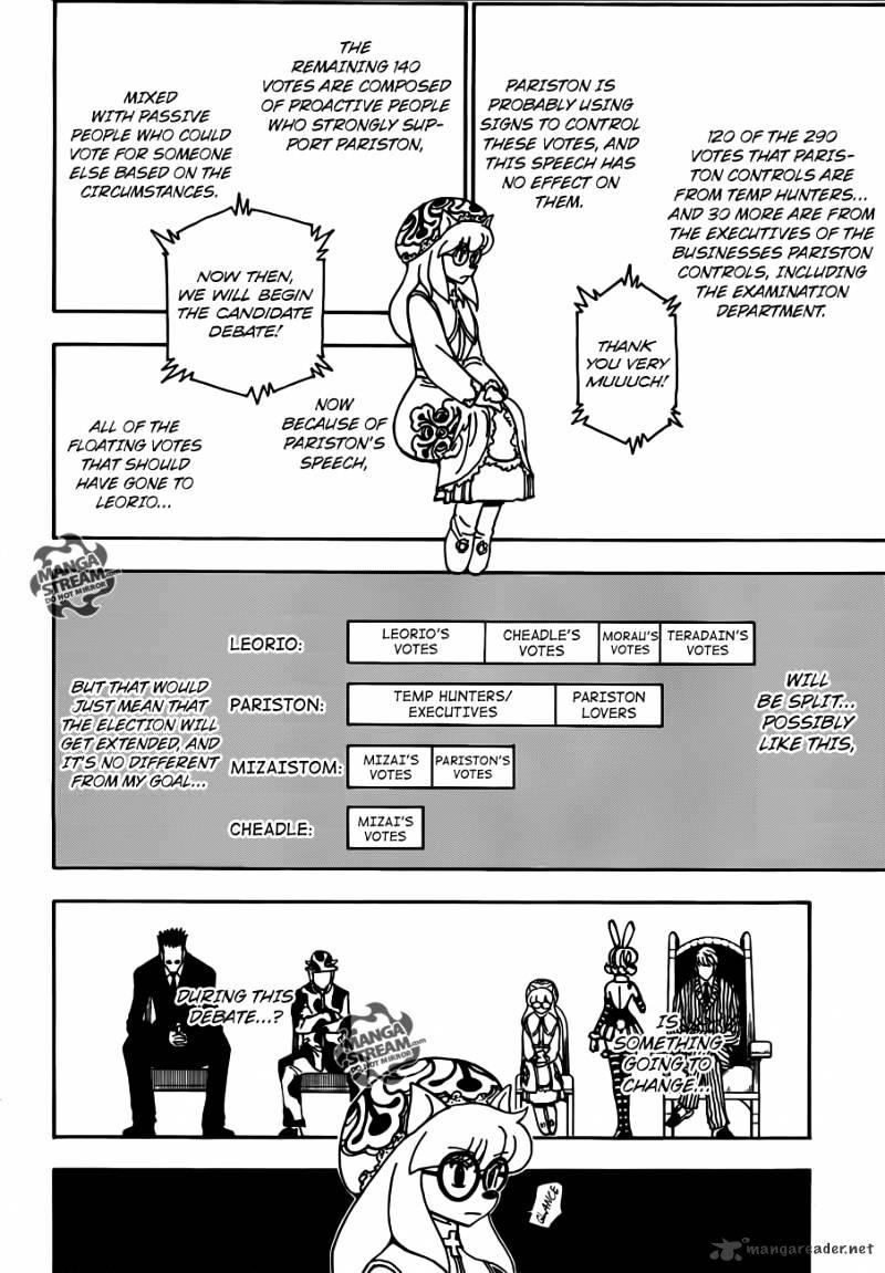 Hunter X Hunter Chapter 333  Online Free Manga Read Image 4