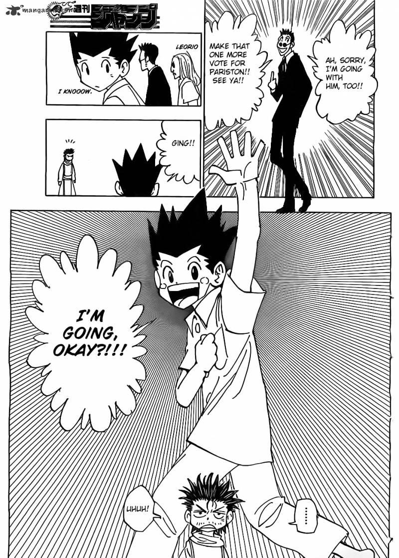 Hunter X Hunter Chapter 335  Online Free Manga Read Image 11