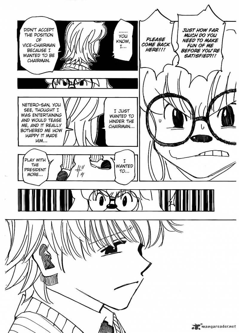 Hunter X Hunter Chapter 335  Online Free Manga Read Image 16