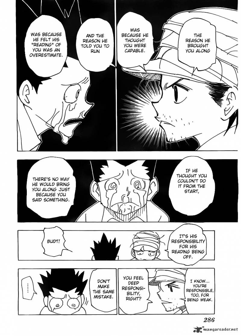 Hunter X Hunter Chapter 335  Online Free Manga Read Image 4