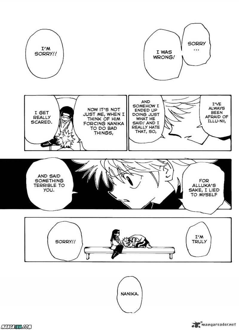 Hunter X Hunter Chapter 336  Online Free Manga Read Image 17