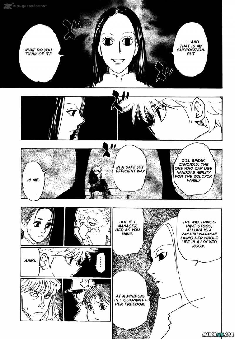 Hunter X Hunter Chapter 336  Online Free Manga Read Image 5