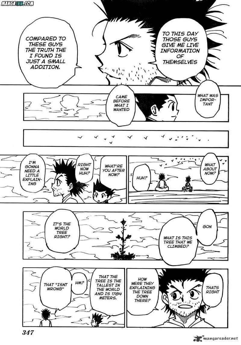 Hunter X Hunter Chapter 338  Online Free Manga Read Image 14