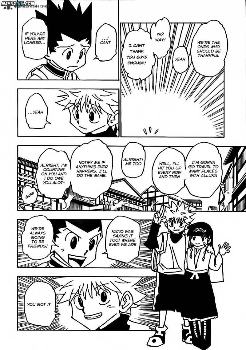Hunter X Hunter Chapter 338  Online Free Manga Read Image 4