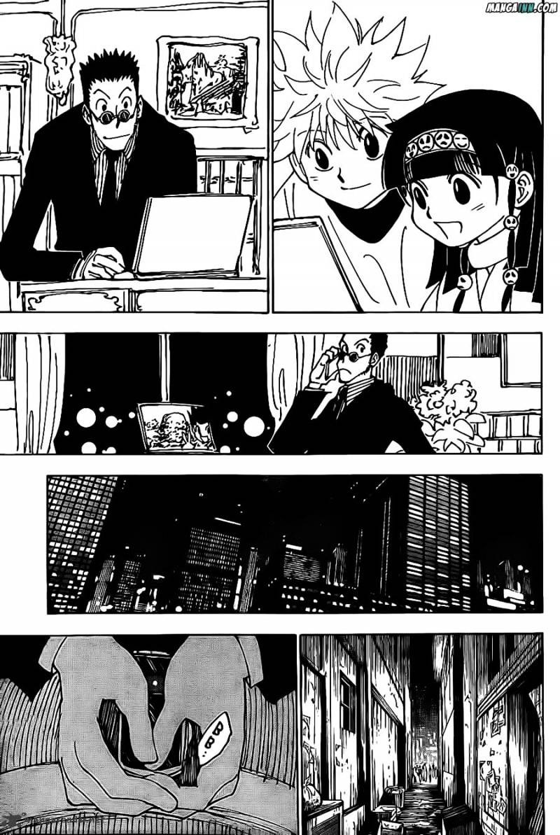Hunter X Hunter Chapter 339  Online Free Manga Read Image 11