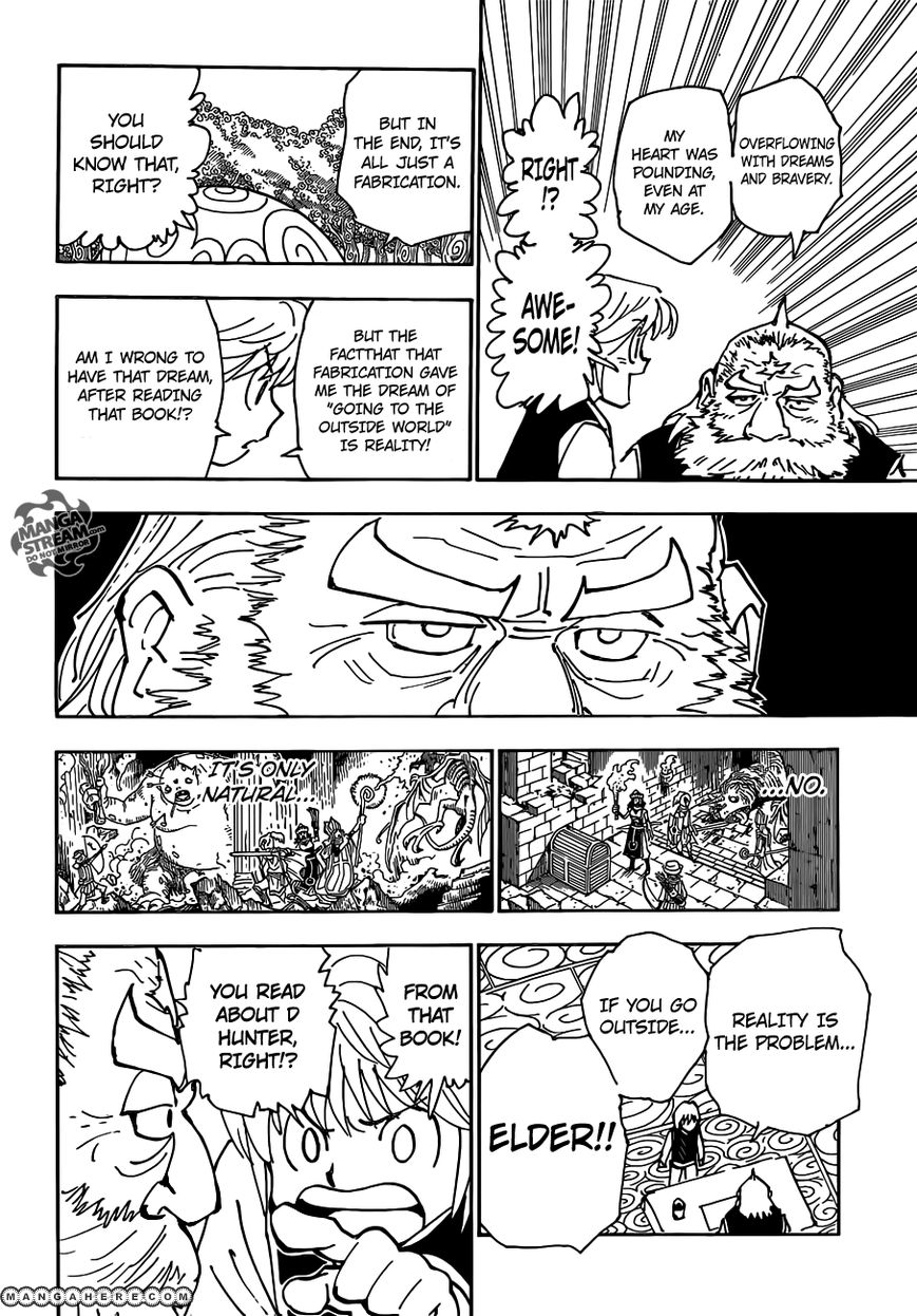Hunter X Hunter Chapter 340.5  Online Free Manga Read Image 18