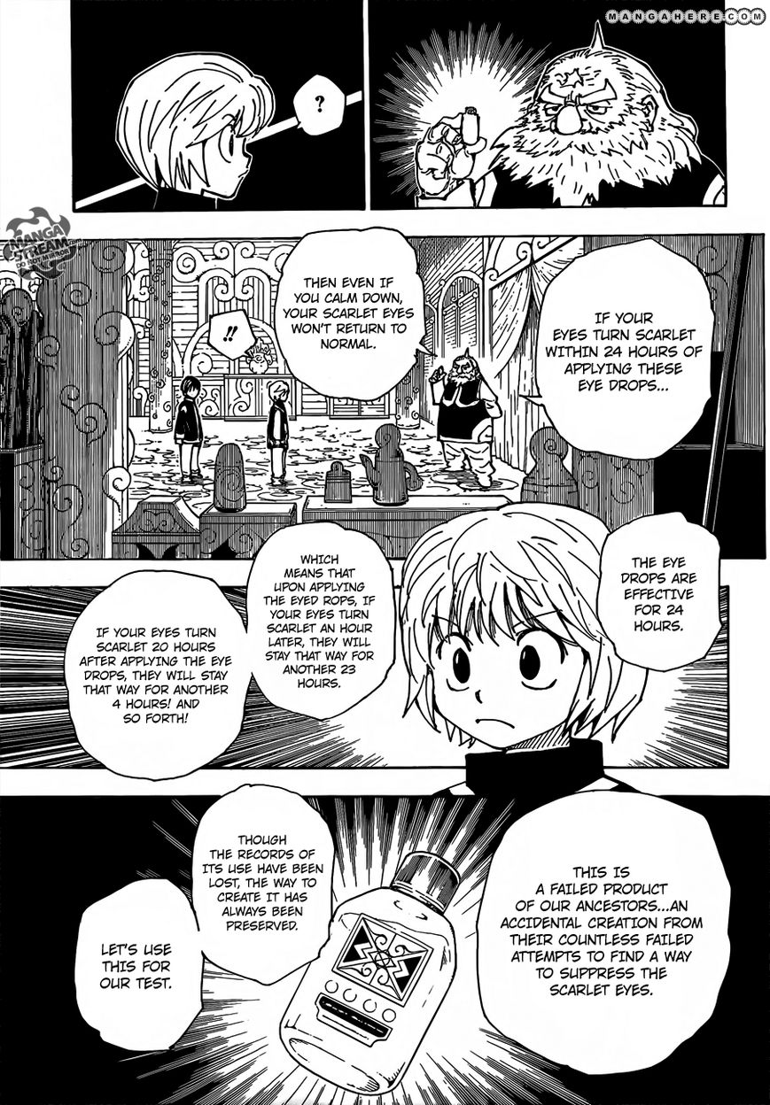 Hunter X Hunter Chapter 340.5  Online Free Manga Read Image 25