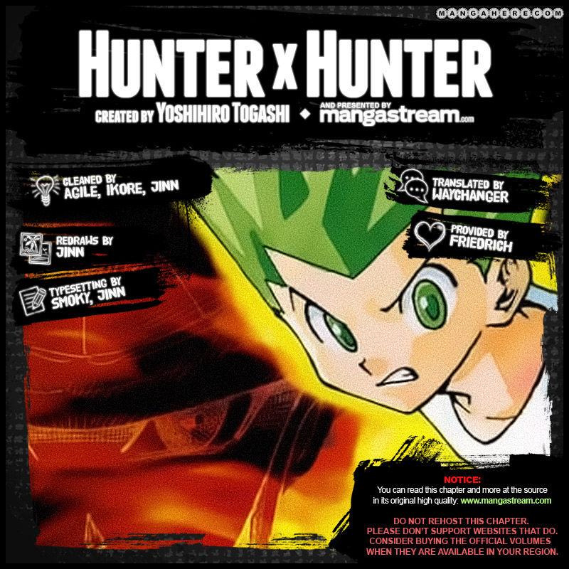 Hunter X Hunter Chapter 340.6  Online Free Manga Read Image 2