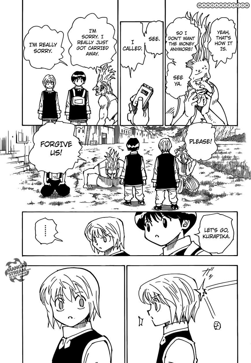 Hunter X Hunter Chapter 340.6  Online Free Manga Read Image 24