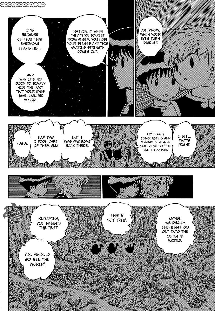 Hunter X Hunter Chapter 340.6  Online Free Manga Read Image 27
