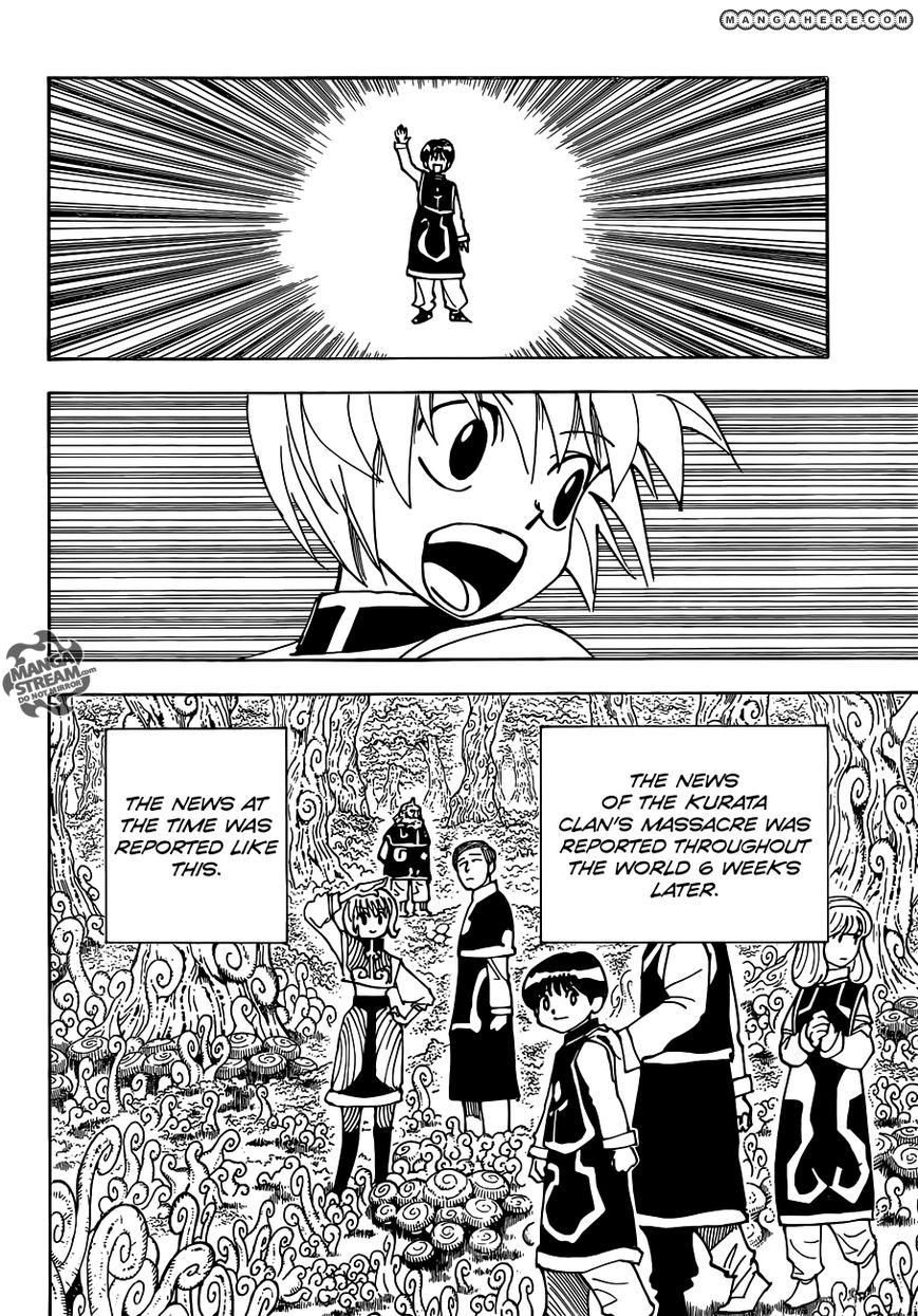 Hunter X Hunter Chapter 340.6  Online Free Manga Read Image 35