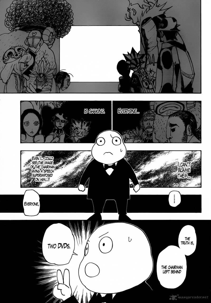 Hunter X Hunter Chapter 340  Online Free Manga Read Image 12