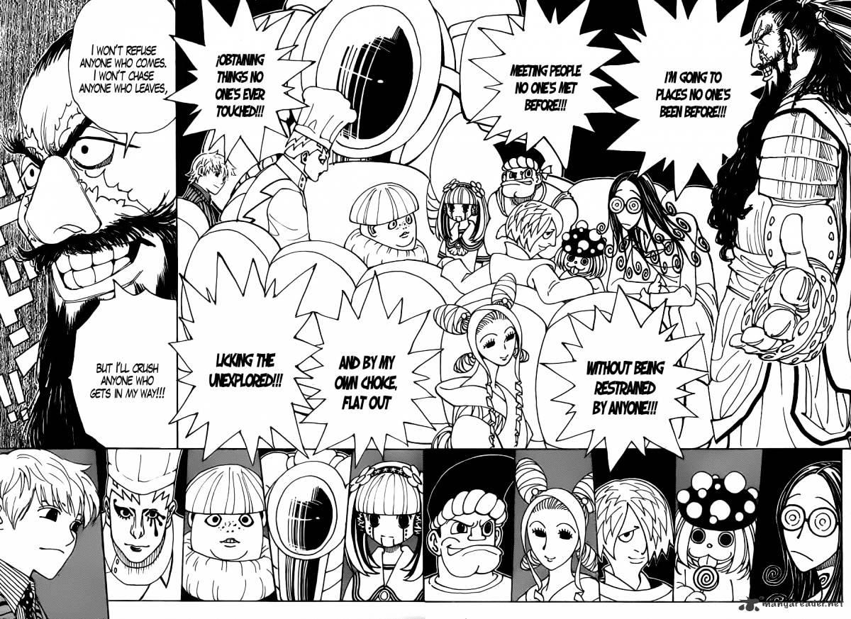 Hunter X Hunter Chapter 340  Online Free Manga Read Image 17