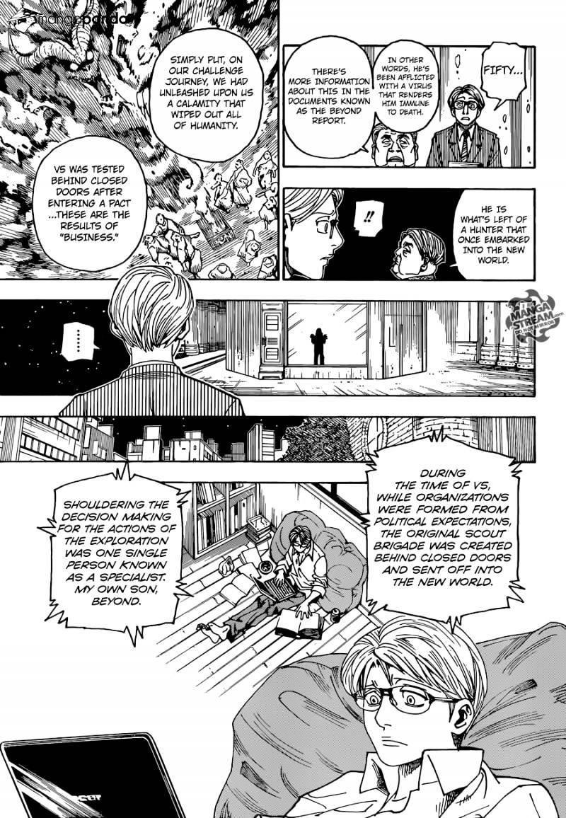 Hunter X Hunter Chapter 341  Online Free Manga Read Image 12