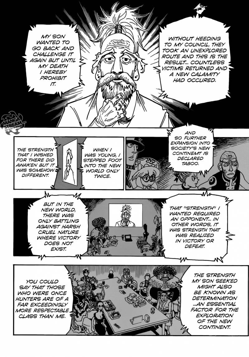 Hunter X Hunter Chapter 341  Online Free Manga Read Image 13